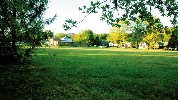 Empty lots are currently being sought after by local residents on site of the old River Valley Hospital.