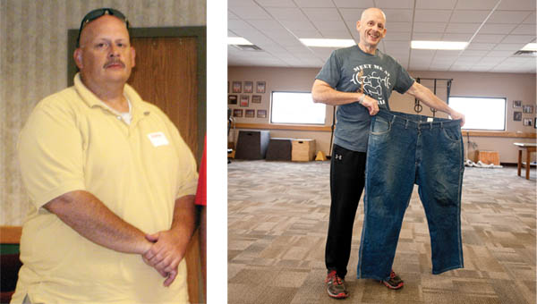 Ironton man succeeds in massive weight loss through diet, exercise