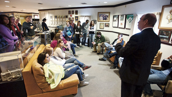 Students from 13 different schools convened at Ohio University Southern to compete in the 14th year of the Student EMPixx Awards.