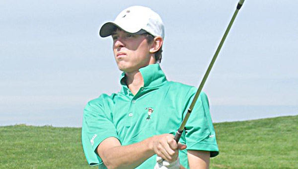 Marshall Thundering Herd senior golfer Nathan Kerns finished third in the Conference USA Tournament. The finish was the highest by a Herd golfer in a C-USA Tournament. (Courtesy Marshall University Sports Information)