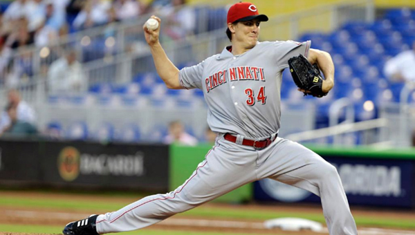 Cincinnati pitcher Homer Bailey threw a complete game six-hitter as the Reds beat the Miami Marlins 6-2 on Tuesday. Bailey racked up 10 strikeouts and did not walk a batter. (Photo Courtesy of The Cincinnati Reds)