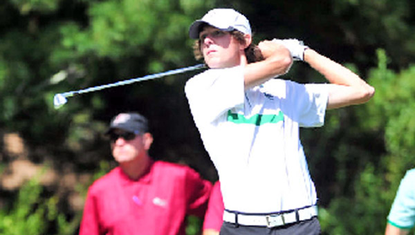Marshall Thundering Herd senior Nathan Kerns has earned a berth in the NCAA Division I golf tournament. The former Ironton All-Ohio golfer will play May 16-18 at the Ohio State Scarlet Course. (Photo Courtesy of the Marshall Univeristy Sports Information)