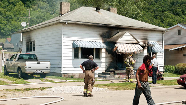 Ironton Fire Department responded to a house fire at 619 S. Ninth St. in Ironton Wednesday.