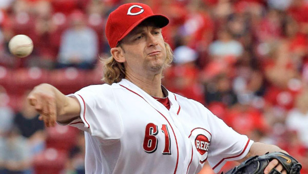 Cincinnati starting pitcher Bronson Arroyo pitched eight innings of four-hit, shutout baseball as the Reds blanked the Colorado Rockies 3-0 on Monday. (Photo Courtesy of The Cincinnati Reds)