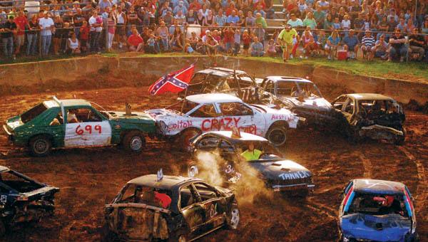 This year's fair will feature three demolition derbies.