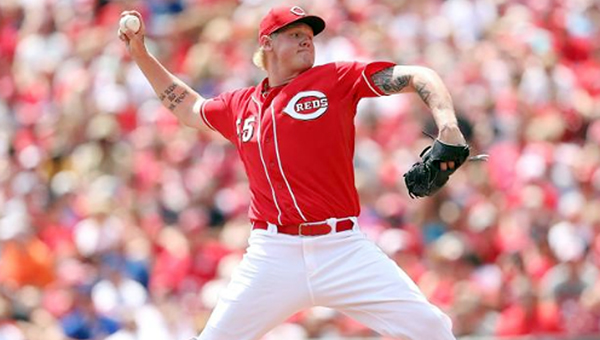 Cincinnati Reds' Mat Latos is one of many players who understand the risks that are involved with being a Major League Baseball pitcher. (Photo Courtesy of The Cincinnati Reds.com)