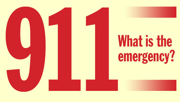 In 2012, both emergency agencies used 61.9 percent of the 1/2 percent sales tax that funds emergency services for Lawrence County.