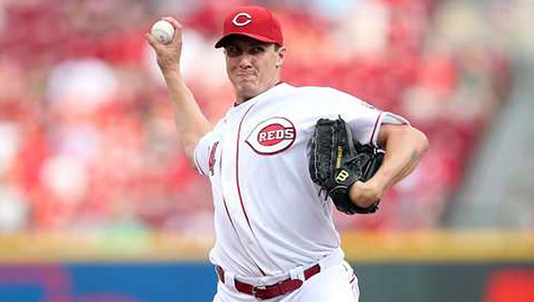 Cincinnati pitcher Homer Bailey delivers a pitch during Tuesday's game. Bailey pitched his second career no-hitter as the Reds blanked the San Francisco Giants 3-0. (Photo Courtesy of The Cincinnati Reds)