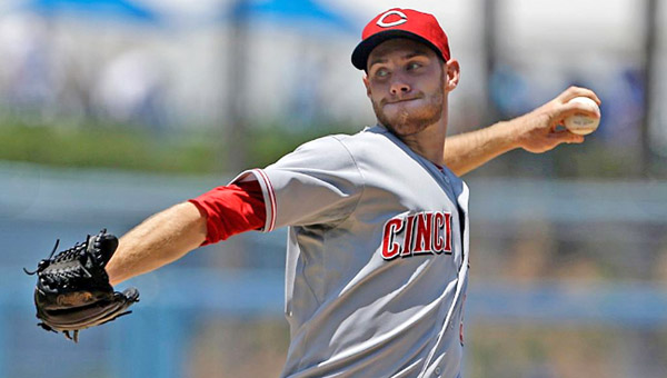 Cincinnati rookie left-hander Tony Cingrani pitched seven shutout innings, struck out 11 and allowed just one hit against the Los Angeles Dodgers on Sunday. However, the Reds failed to score and lost 1-0 in 11 innings. (Photo Courtesy of The Cincinnati Reds)