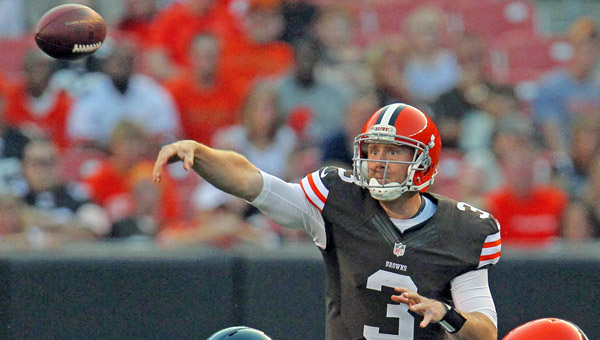 Cleveland Browns' quarterback Brandon Weeden expects to have a better second second in the NFL after gaining valuable experience last year as a rookie. (MCT Direct Photos)