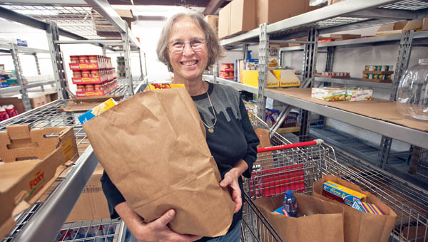 Ironton native Diane Porter has taken over the responsibilities as manager for the Harvest for the Hungry food pantry, located on Fifth Street in downtown Ironton.