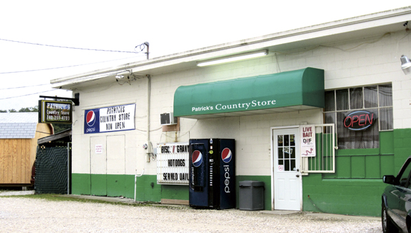 The façade of Patrick's Country Store in Deering is indicative of owners Teresa and Joel Patrick's intention to do business the old-fashioned way.