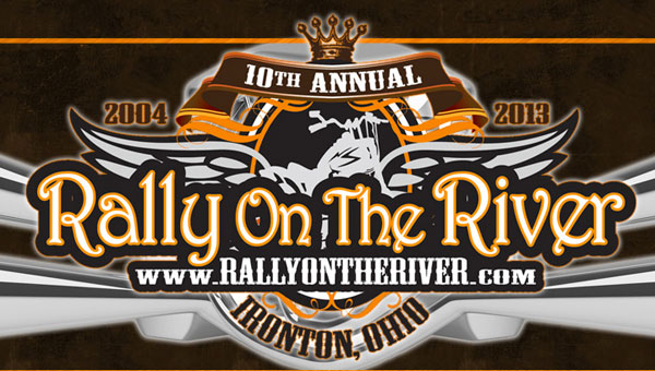 The Rally on the River kicked off its 10th year of bringing bikes, music and entertainment to Ironton.