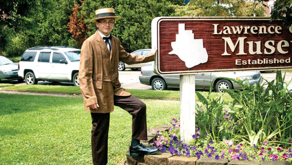 John Higgins will portray Col. James Slater at the upcoming Historical Walk at Woodland Cemetery.