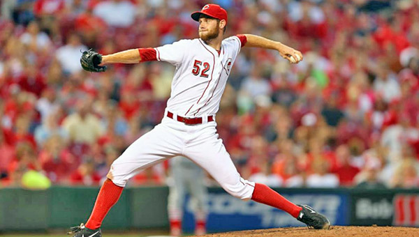 Cincinnati Reds' rookie pitcher Tony Cingrani went 5.1 innings as he ran his record to 7-3 in the Reds' 6-2 win over the St. Louis Cardinals Thursday. (Photo Courtesy of the Cincinnati Reds)