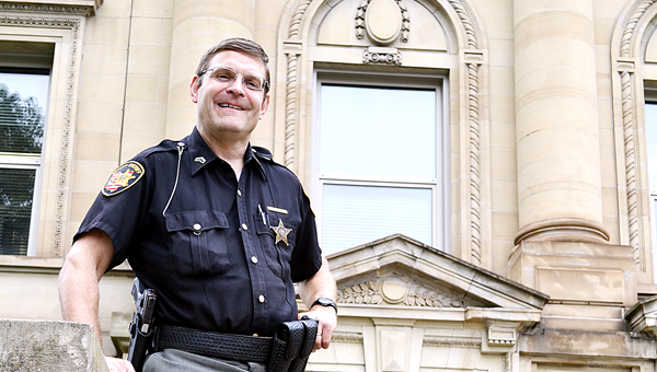 """Lawrence County Deputy Dave Wireman, who has spent 25 years as a process server, has retired. Known as """"Deputy Dave"""" by colleagues and members of the community, Wireman is a well-known figure across Lawrence County."""