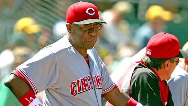 Cincinnati Reds' manager Dusty Baker said he is not concerned with his team's five-game losing streak heading into Tuesday's Wild Card game in Pittsburgh. ( MCT Direct Photos)