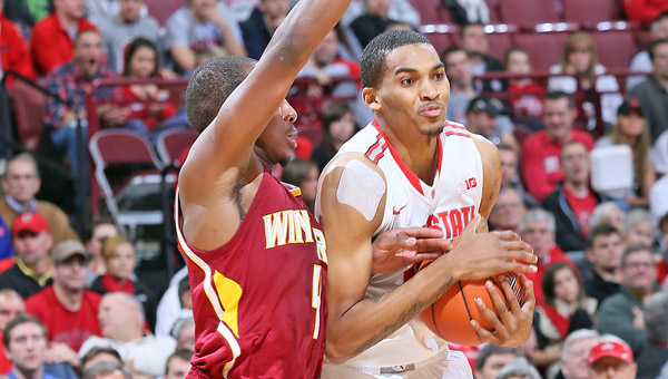 Ohio State forward LaQuinton Ross (10) is one of four returning starters for the Buckeyes this season. (MCT Direct)