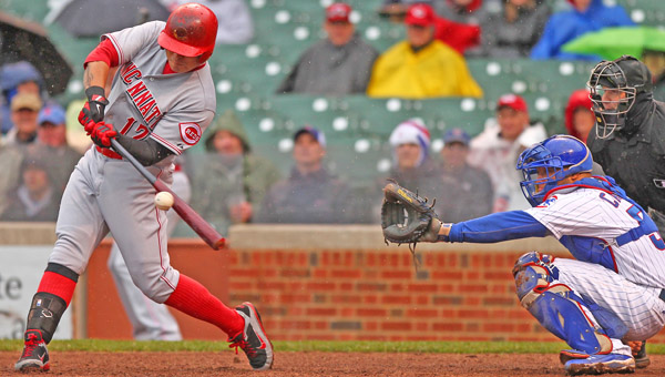 The Cincinnati Reds made a qualifying contract offer of $14.1 million to free agent centerfielder Shin-Soo Choo on Monday. Choo was a key player as the Reds' leadoff hitter. (MCT Direct Photos)