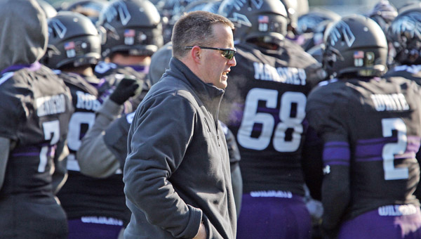 Northwestern coach Pat Fitzgerald said his team is one of many in the Big Ten in danger of not qualifying for a postseason bowl. (MCT Direct Photo)