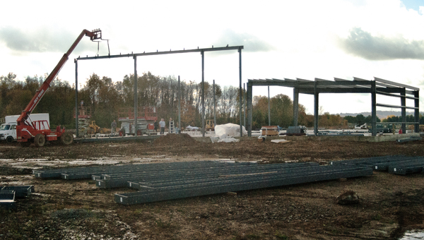 Construction of the new Ken/API Supply distribution center has begun, and is set for completion at the start of 2014.