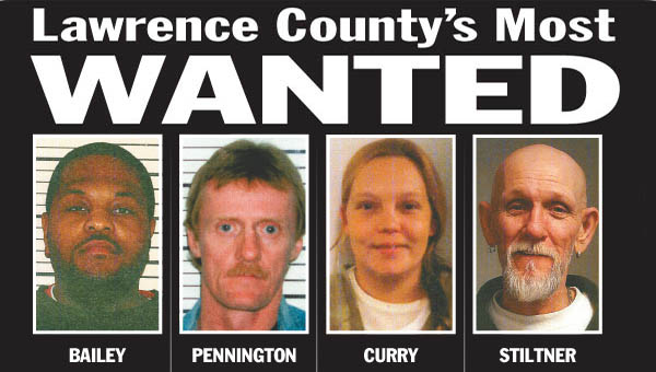 Two men who recently made the Lawrence County's Most Wanted list turned themselves surrendered to authorities last week.
