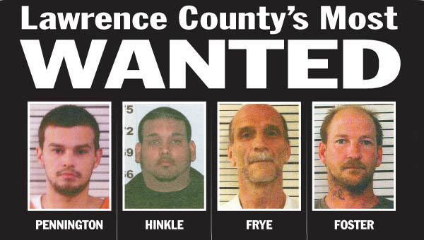 The Lawrence County Adult Probation Agency had its hands full last week following up on leads, which led to more arrests from the Most Wanted list.