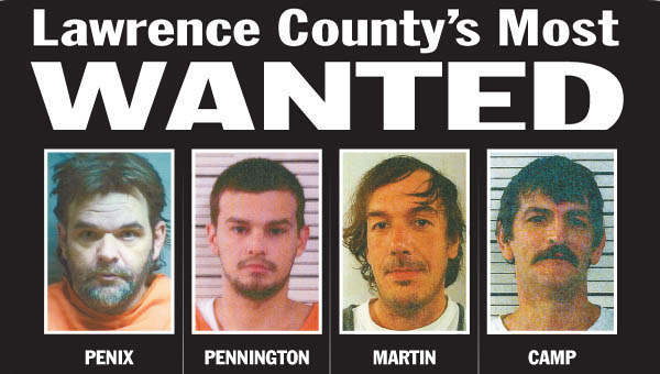 Two of Lawrence County's Most Wanted probation offenders were sentenced to prison Tuesday in common pleas court.