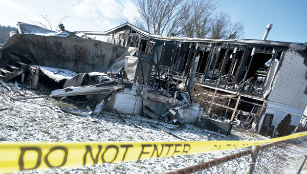 The Kitts Hill Fire was the second to hit Lawrence County this week. This fire on Front Street in Proctorville occurred on Sunday morning.