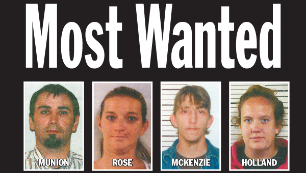 List of Lawrence County's Most Wanted for the week of Jan. 13.