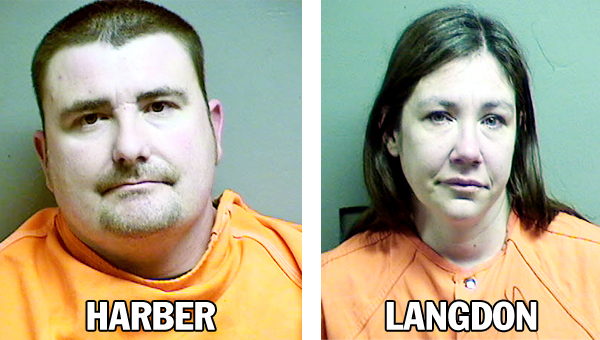 Craig M. Harber, 36, of 204 Wilgus St., Proctorville, and Craig M. Harber, 36, of 204 Wilgus St., Proctorville, were arrested Wednesday night.