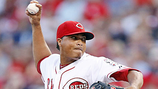 Cincinnati reliever Alfredo Simon will take a turn in the starting rotation temporarily to fill the spot left open due to an injury to Mat Latos. (MCT Direct Photos)