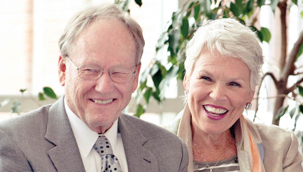 Bob and Billie Smith were honored for their community service efforts by Leadership Tri-State.