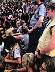 Submitted Dr. Charles Jarrett, far right, appears in a photo in Life Magazine that was taken at Woodstock in 1969.