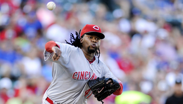 Cincinnati pitcher Johnny Cueto pitched his second complete game of the season as the Reds beat Pittsburgh 4-1 on Tuesday. (Photo Courtesy of The Cincinnati Reds)
