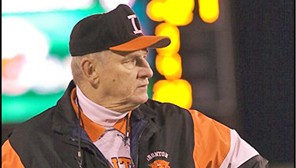 Former Ironton Fighting Tigers' head football coach Bob Lutz will be honored at the Ohio State University coaches' clinic. (Kent Sanborn of Southern Ohio Sports Photos)