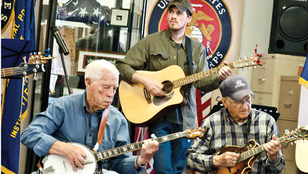Local musicians gathered at Proctorville VFW Post 6878 to perform during the annual ramp dinner Saturday.