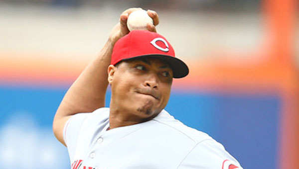 Cincinnati pitcher Alfredo Simon threw seven strong innings as the Reds beat the New York Mets 2-1 on Sunday. (MCT Direct Photo)