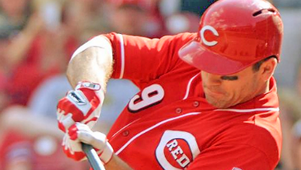 Cincinnati first baseman Joey Votto has flourished since being moved to the No. 2 spot in the Reds' batting lineup. (Photo Courtesy of The Cincinnati Reds)