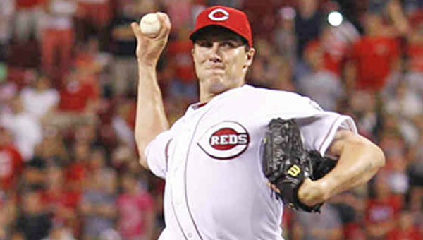 Cincinnati pitcher Homer Bailey threw a season-high eight innings to get the win as the Reds beat Milwaukee 8-3 on Thursday. (MCT Direct Photos)