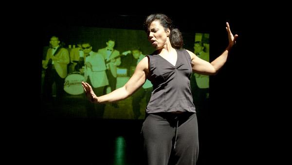 Mitzi Sinott  performs
