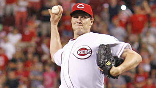 Cincinnati pitcher Homer Bailey  will face the San Francisco Giants as the teams begin a three-game series Tuesday. Bailey threw a no-hitter in his last meeting against the Giants. (MCT Direct Photos)