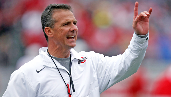 Ohio State Buckeyes' head football coach Urban Meyer said his team is ready for the season opener Saturday at Navy. (MCT Direct Photo)