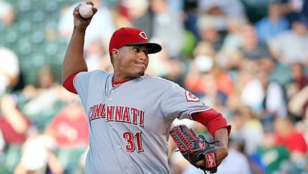 Still winless since the All-Star Game, Cincinnati pitcher Alfredo Simon gave up a career-high seven runs in the Reds 7-3 loss to Colorado Thursday. (Courtesy of the Cincinnati Reds.com)