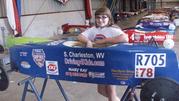 Dakota Thomas took fifth place at the National Derby Rallies.