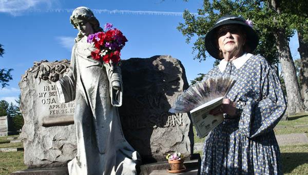 Virginia Smith portrays Osa Wilson, whose statue reportedly present unusual phenomena.