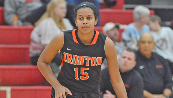 Ironton Lady Fighting Tigers' junior guard Lexie Barrier has given a verbal commitment to play at Virginia Tech of the Atlantic Coast Conference. (Kent Sanborn of Southern Ohio Sports Photos)