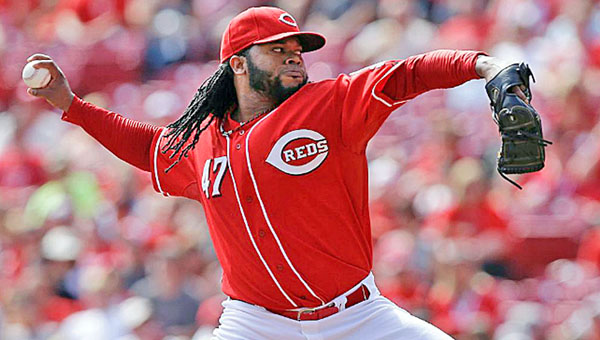 The Cincinnati Reds have exercised their option on pitcher Johnny Cueto for a $10 million salary in 2015. Cueto became the first Reds' pitcher since Danny Jackson in 1988 to win 20 games. (Photo Courtesy of The Cincinnati Reds)