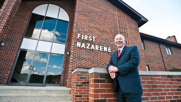 Pastor Rob Hale with the First Church of the Nazarene will celebrate its 100 year anniversary this Sunday.