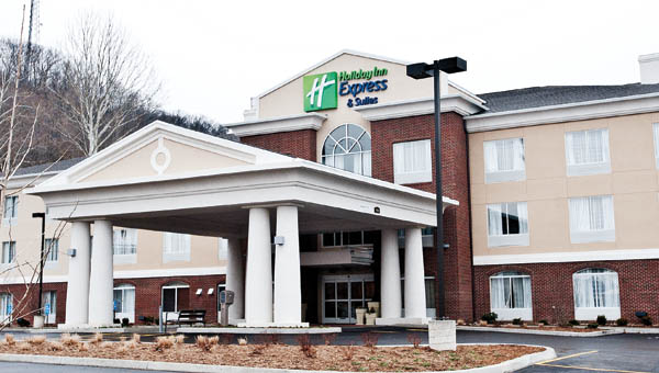 Holiday Inn Express and Suites is part of phase I of the Gateway project on Ninth Street in Ironton.